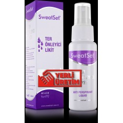 SweatSet  Ter Önleyici Likit 60 ml
